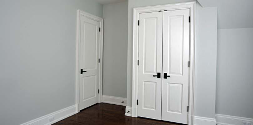 Sprøjtelakering af døre - Pris på maling af døre