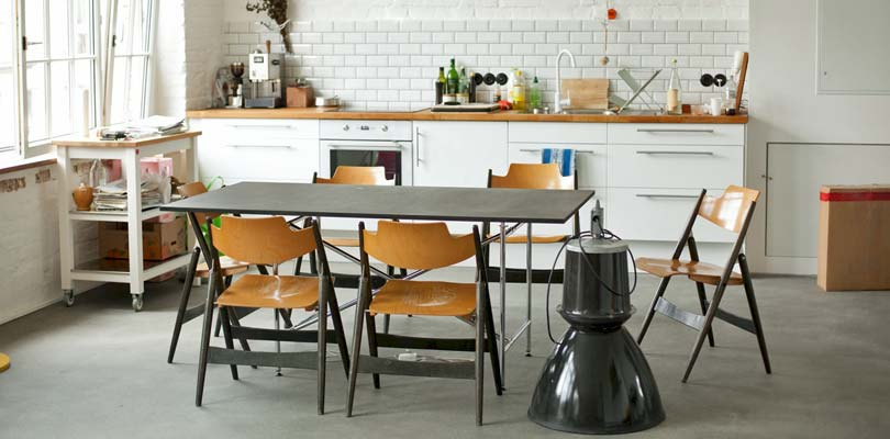 Maling af køkkenlåger højglans og mat lakering